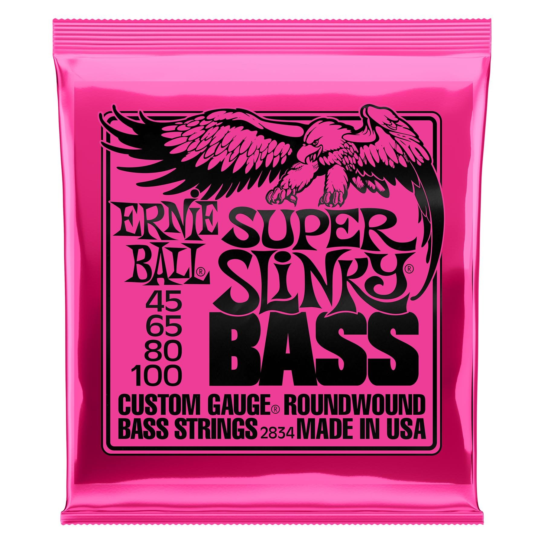 Ernie Ball 2834 Super Slinky Roundwound Bass Strings Sweetwater Wiring Leds For Dummies 2263 Image 1