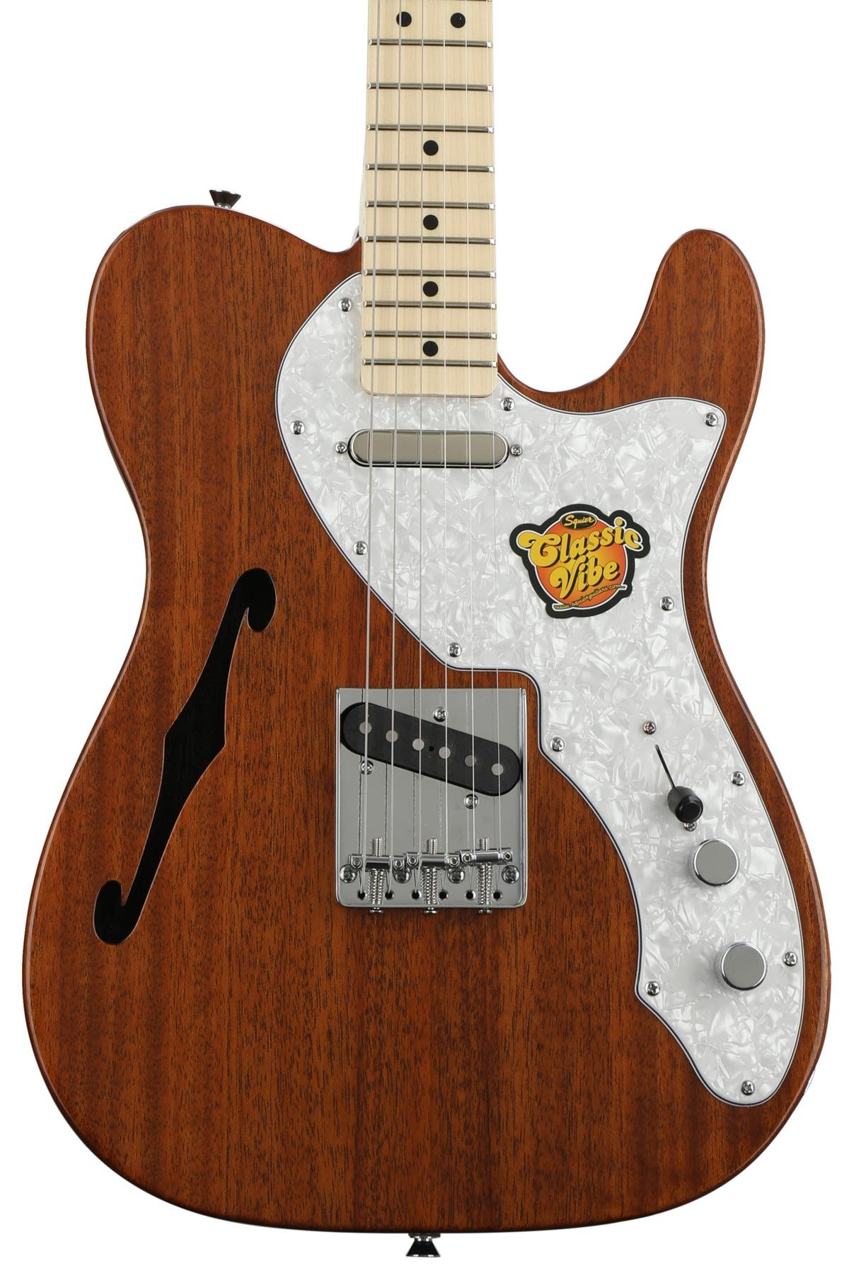 Squier Classic Vibe Telecaster Thinline Natural Sweetwater Epiphone Les Paul Custom Here Is An Example Of Modern And 50 S Wiring Image 1