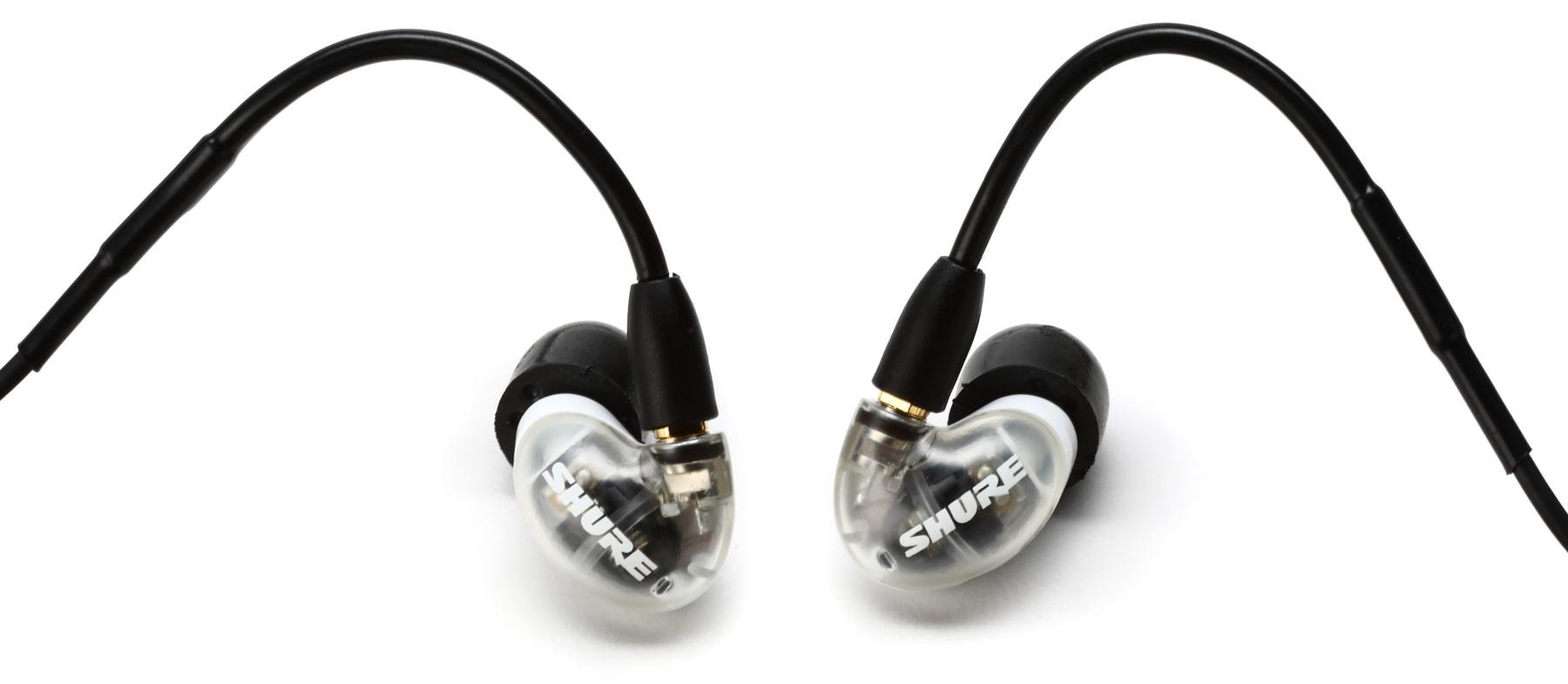 Shure AONIC 4 Sound Isolating Earphones - White   Sweetwater