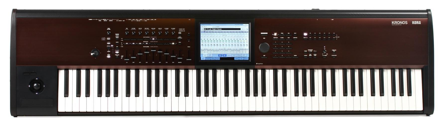 Korg Kronos LS 88-key Synthesizer Workstation | Sweetwater