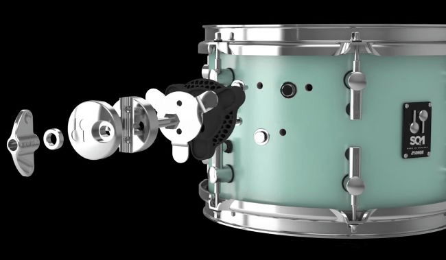 Sonor Sq1 22 Quot 3 Piece Shell Pack Cruiser Blue Sweetwater