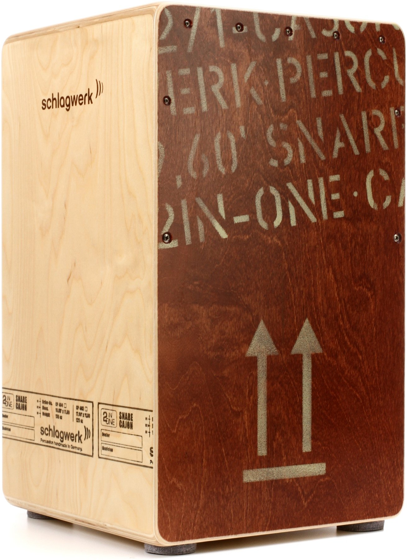 Schlagwerk CP403RED 2inOne Cajon Red Edition