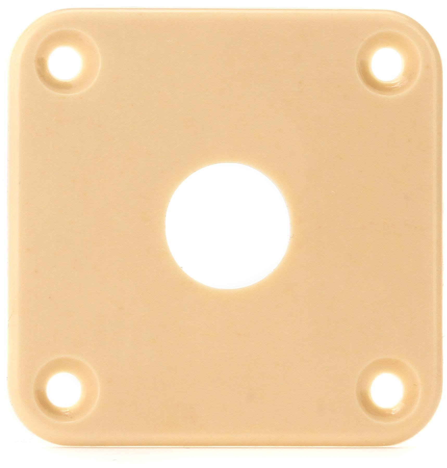 Creme Plastic Gibson Gear PRJP-030 Jack Plate