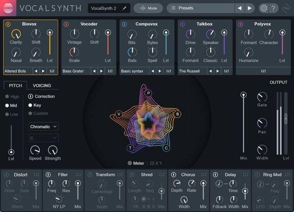 Vocal Effects Plugins : izotope vocalsynth 2 vocal multi effects plug in sweetwater ~ Vivirlamusica.com Haus und Dekorationen