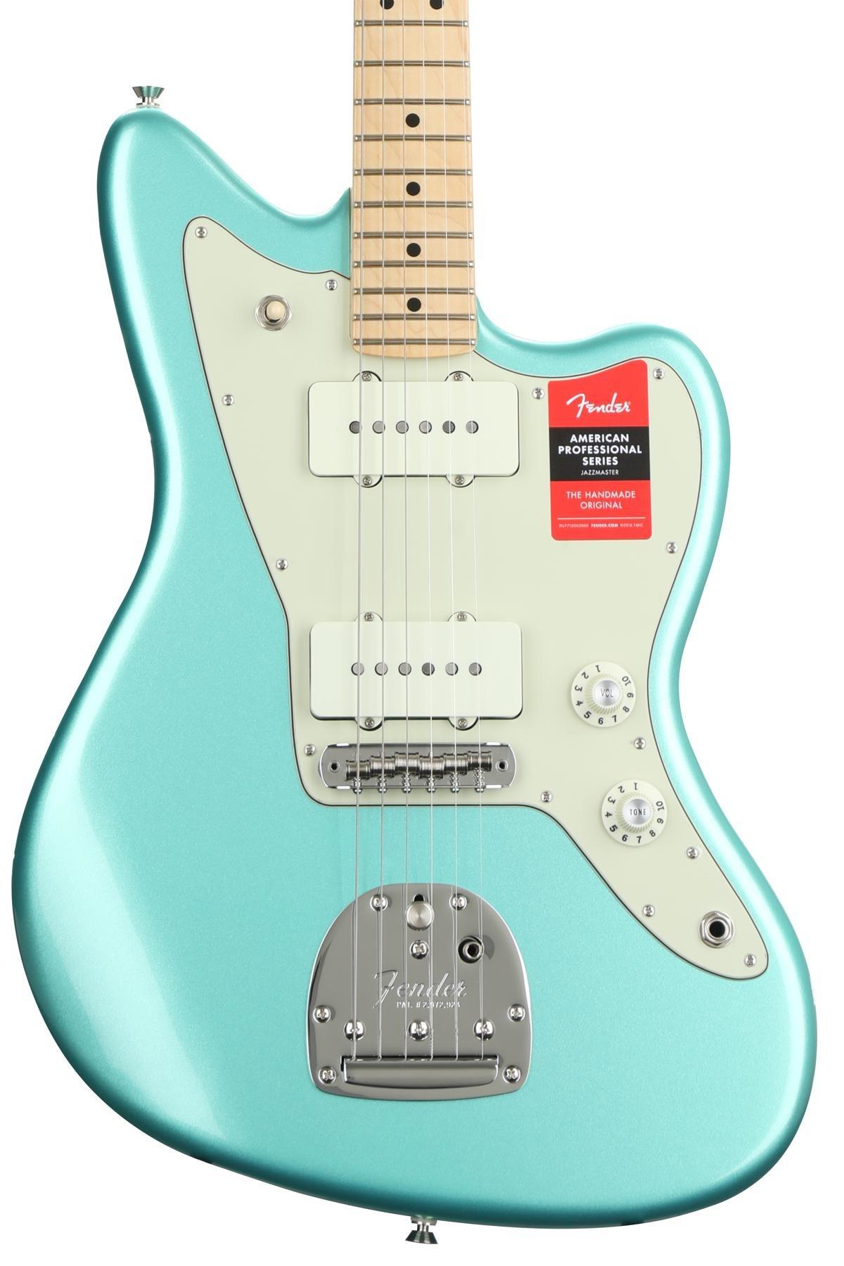 Fender American Professional Jazzmaster Mystic Seafoam W Maple Wiring Diagram 50 S Fingerboard Image 1