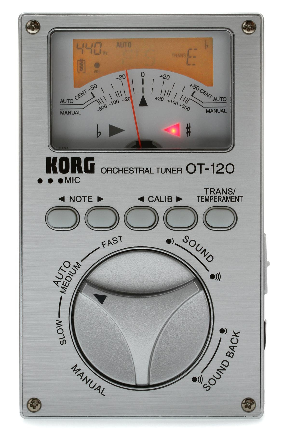 Korg OT-120 Orchestral Tuner | Sweetwater