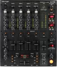 Behringer Pro Mixer DJX750 4-channel DJ Mixer