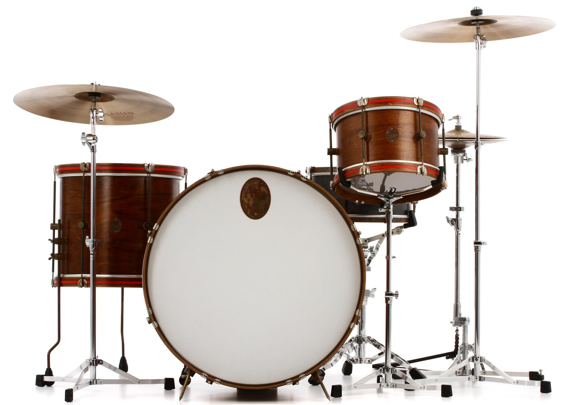 A&F Drum Company Field 3-piece Shell Pack - Triple Whiskey ...