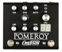 Emerson Custom Pomeroy Boost / Overdrive / Distortion Pedal - Black