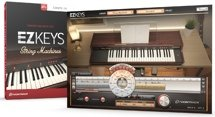 Toontrack EZkeys String Machines Songwriting Software and Virtual String Synthesizer