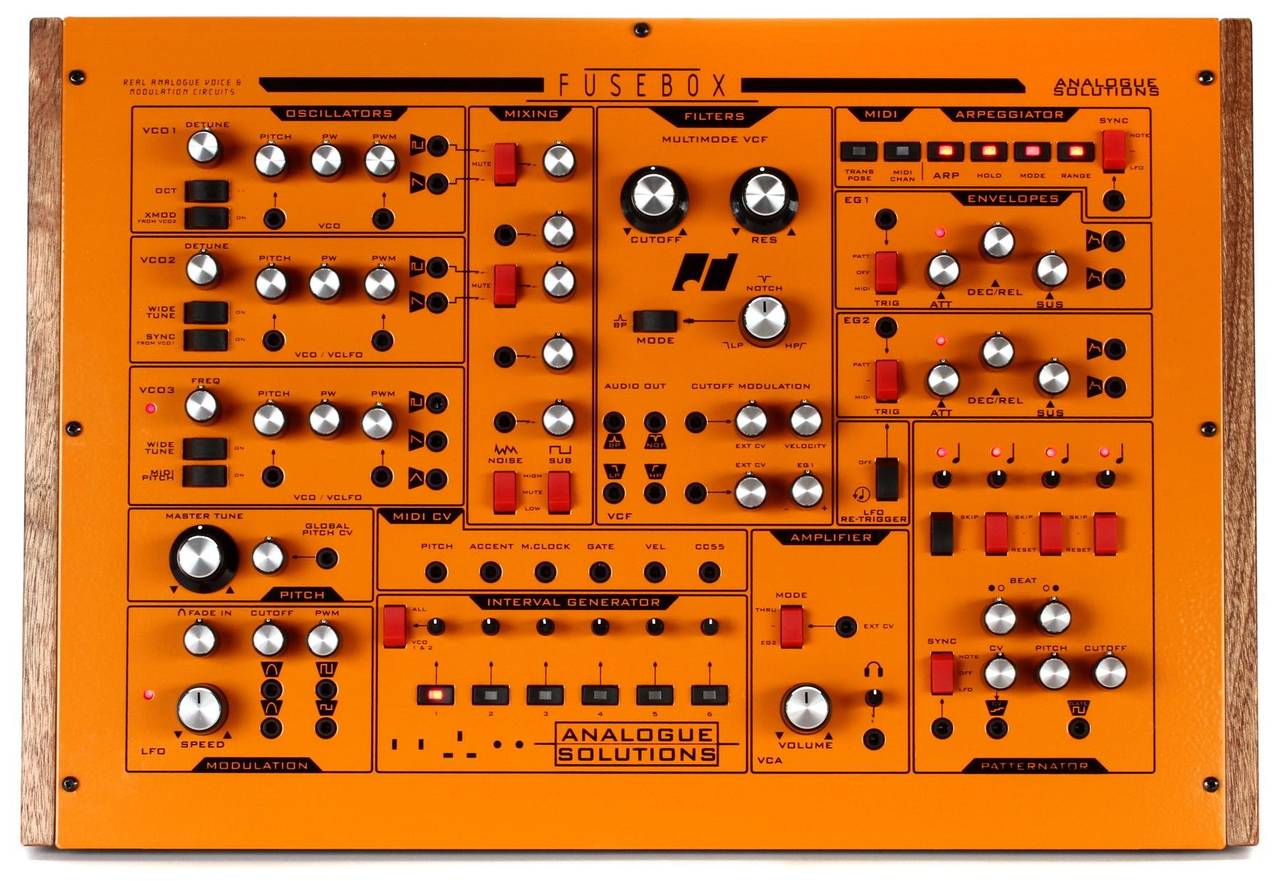 Fusebox xlarge analogue solutions fusebox synthesizer with patternator sweetwater fuse box credit card at bakdesigns.co