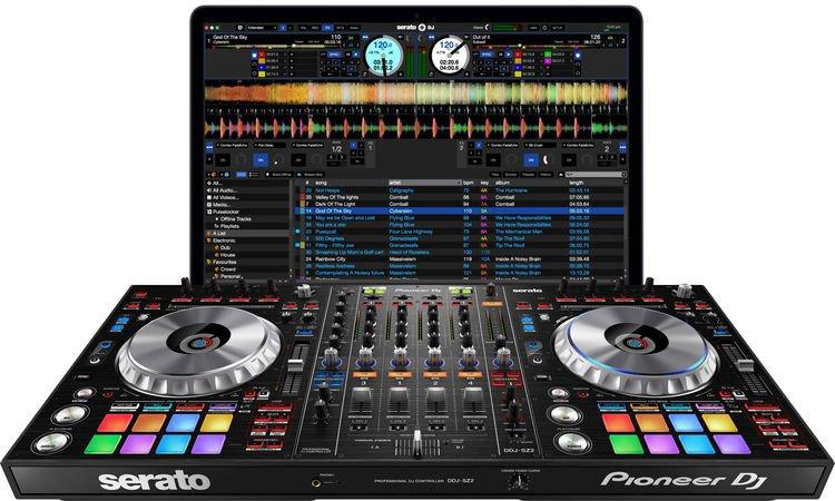 Pioneer DJ DDJ-SZ2 4-deck Serato DJ Pro Controller   Sweetwater