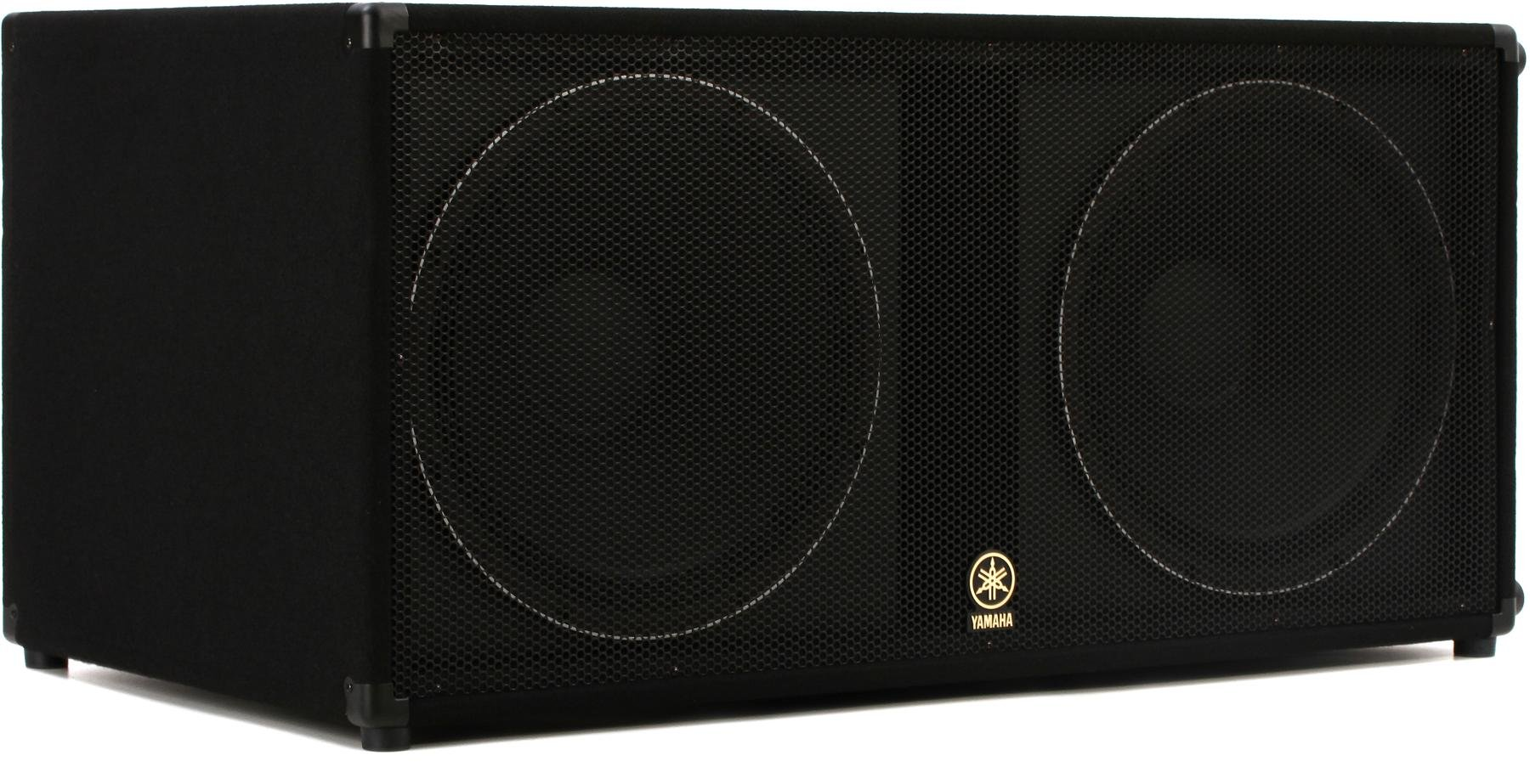 Yamaha SW21V 21W Dual 21 inch Passive Subwoofer   Sweetwater