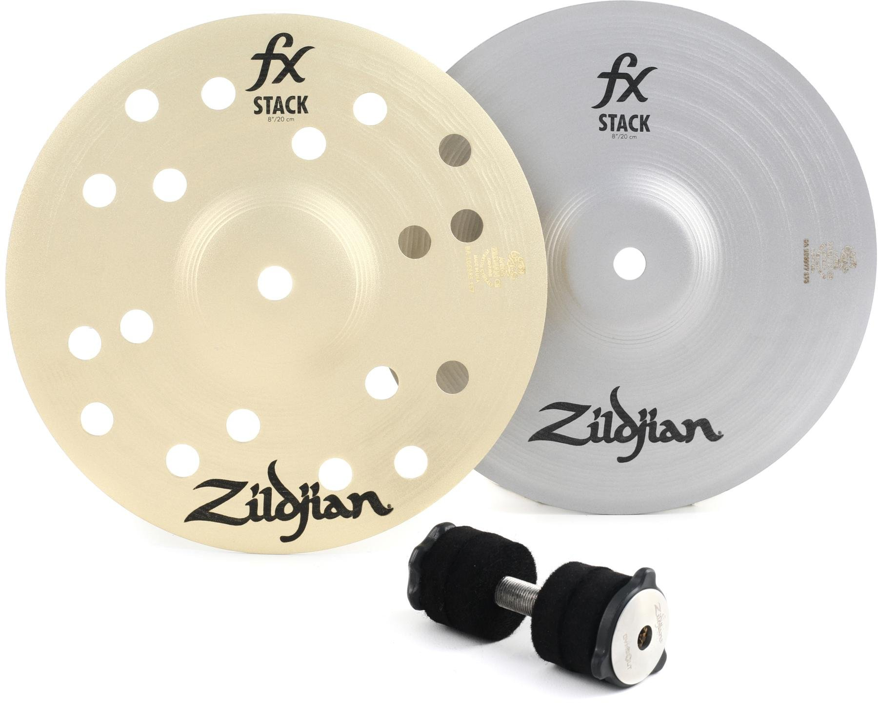 Zildjian 12 FX Stack Pair w//Mount