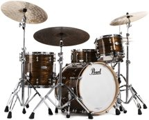 Pearl Music City Custom Reference Pure Shell Pack - 3-piece Jazz - Bronze Oyster Wrap