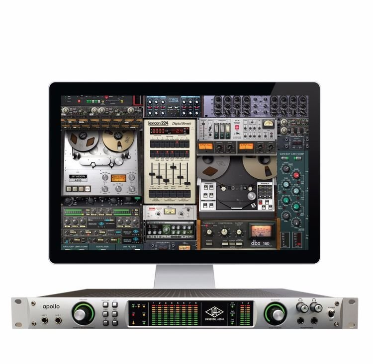 Universal audio apollo firewire sweetwater built in uad 2 quad dsp for running uad 2 powered plug ins stopboris Image collections