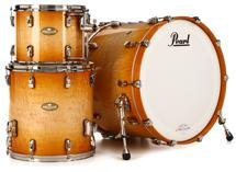 Pearl Masterworks Stadium Exotic 3-piece Shell Pack - Sunburst over Flame Maple