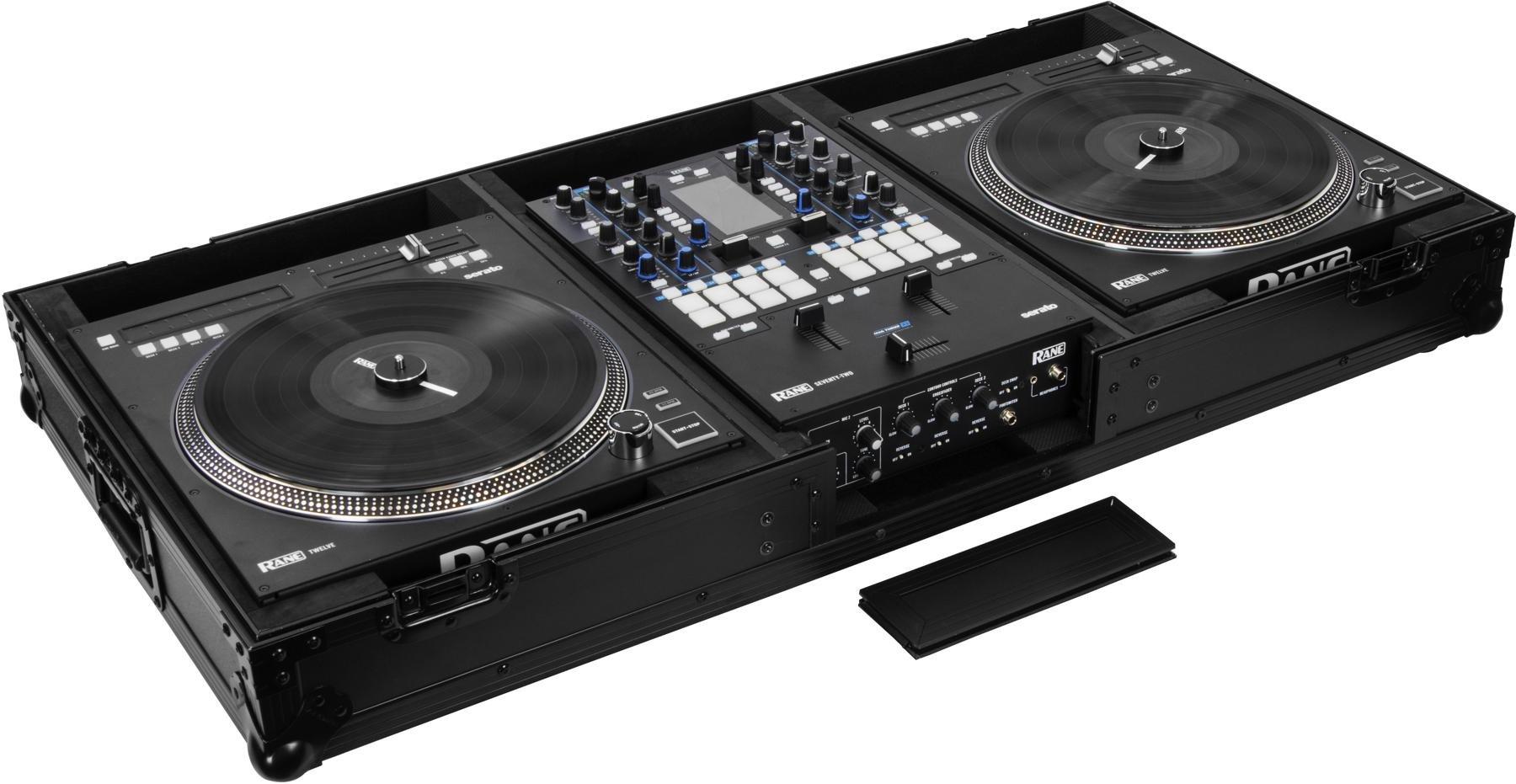 Harmony HC2T1272WLT DJ Battle Coffin for 2 Rane 12 Turntables /& Rane 72 Mixer