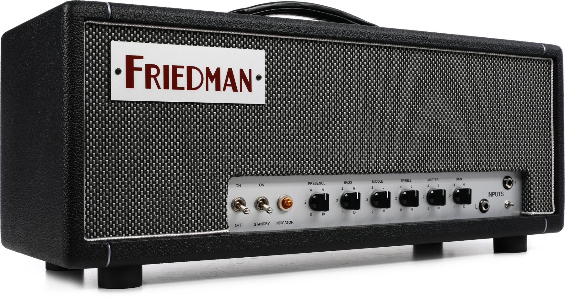 Friedman Dirty Shirley 40 Watt Tube Head Sweetwater 20w Power Amplifier With El34 Image 1