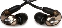 Shure SE535 Sound Isolating Earphones - Metallic Bronze