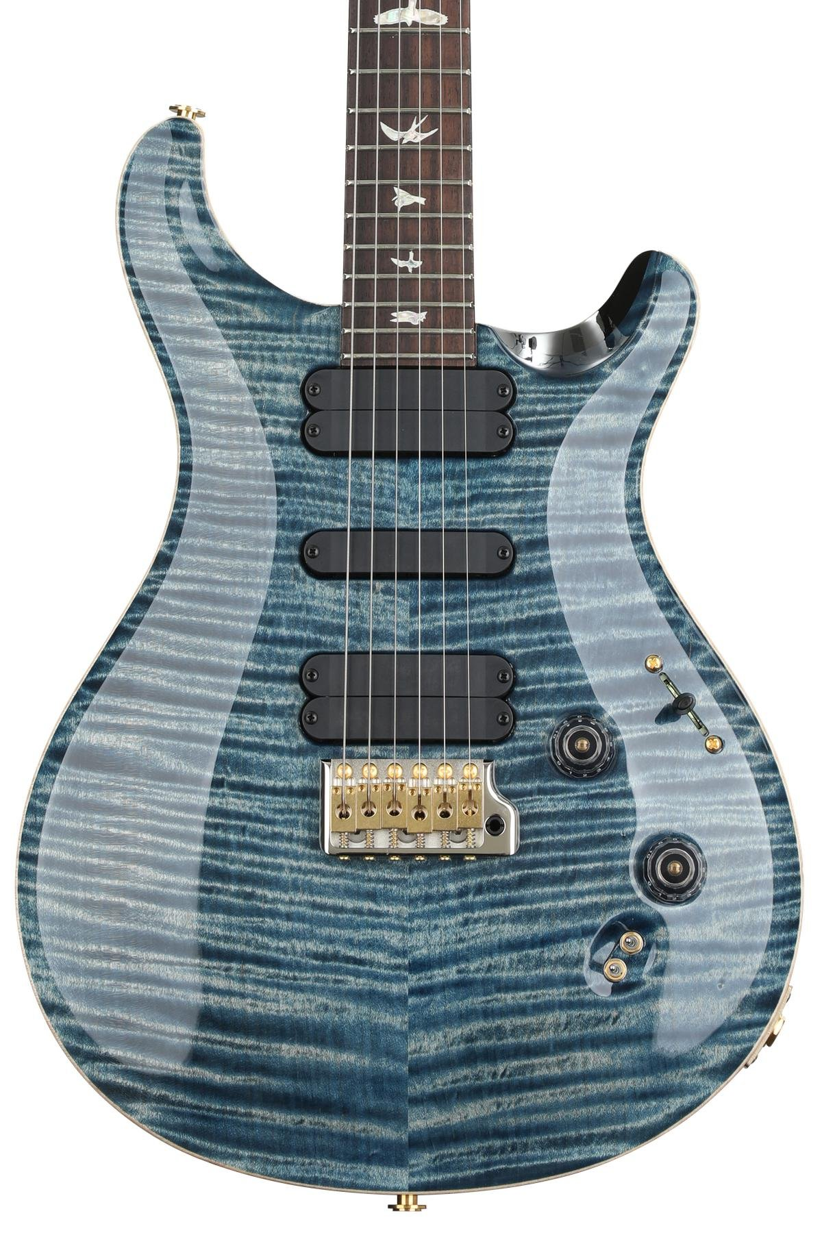Prs 509 10 Top Faded Whale Blue Sweetwater Guitar Image 1