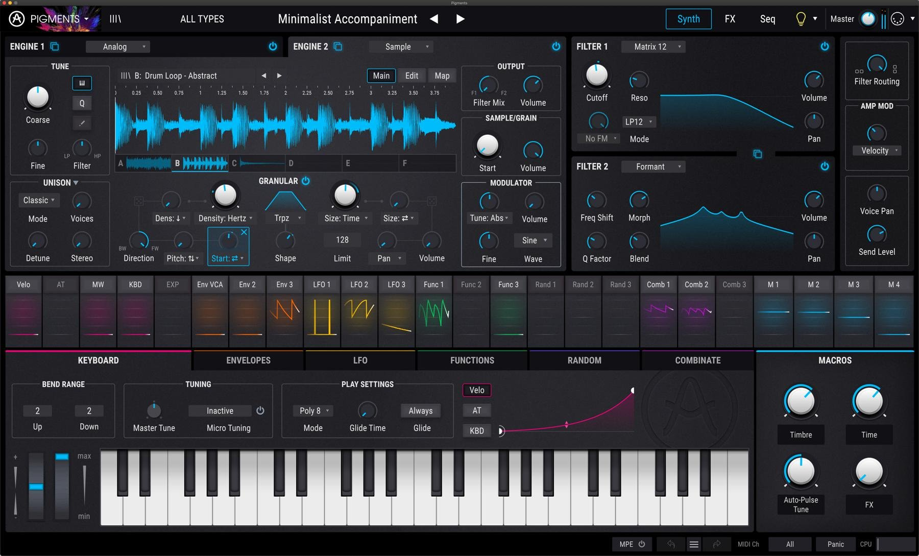 Arturia Pigments 2 Software Synthesizer | Sweetwater
