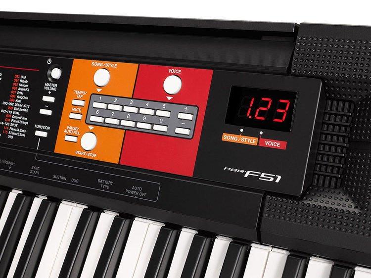 Yamaha PSR-F51 61-key Portable Arranger | Sweetwater