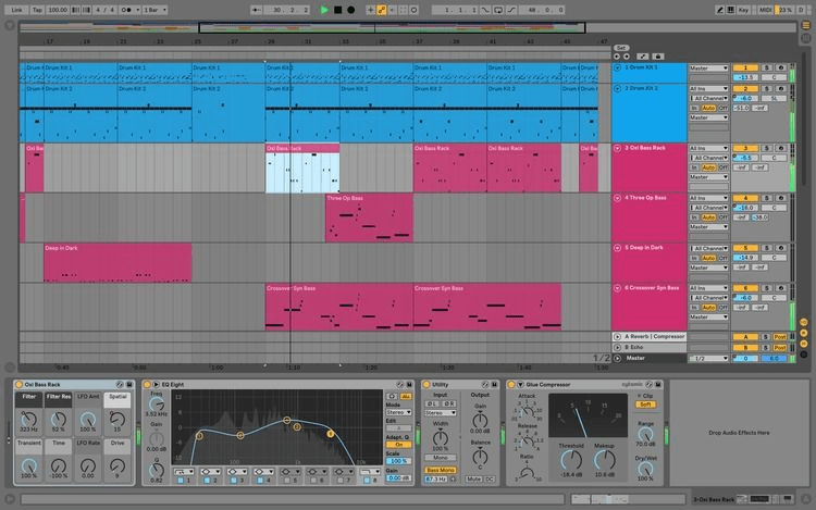 easy song to build in ableton live
