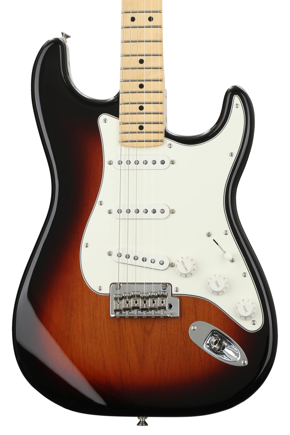 Fender Player Series Stratocaster 3 Tone Sunburst W Maple Keep Us Posted On Your Pickup And Control Requirements I Can Fingerboard Image 1