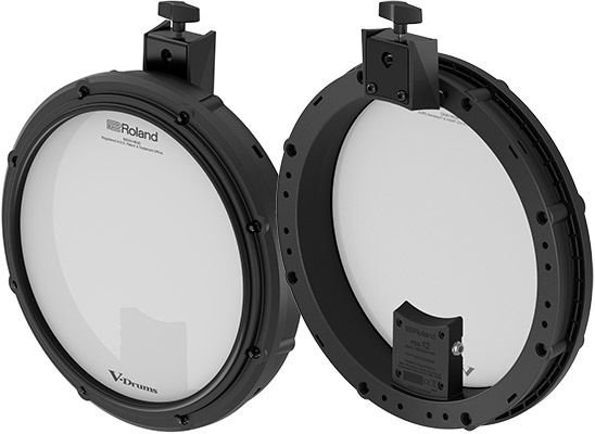 roland pdx 12 dual trigger mesh snare pad sweetwater. Black Bedroom Furniture Sets. Home Design Ideas