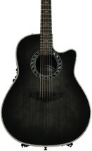 Ovation Custom Legend - Trans Black