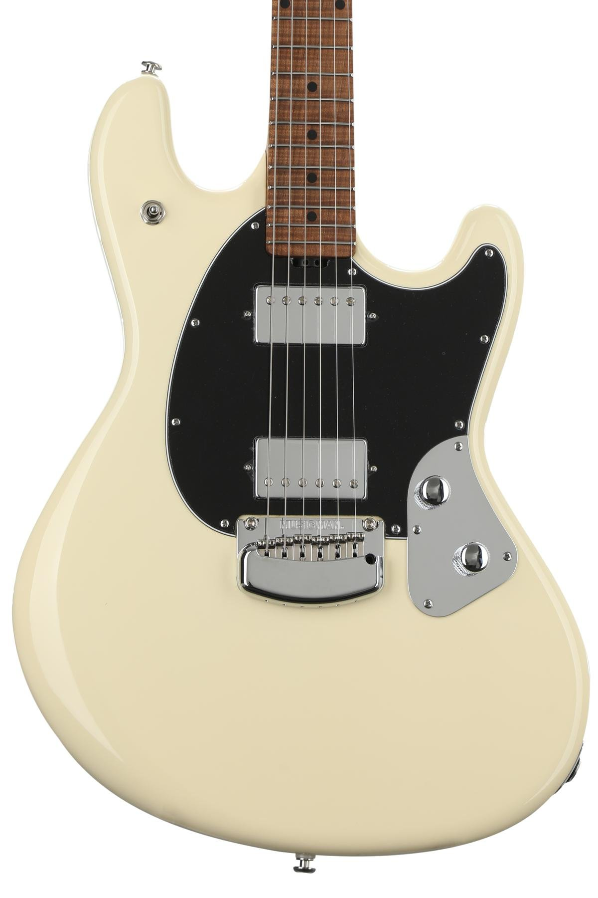 Ernie Ball Music Man Stingray Rs Aged Buttercream Sweetwater