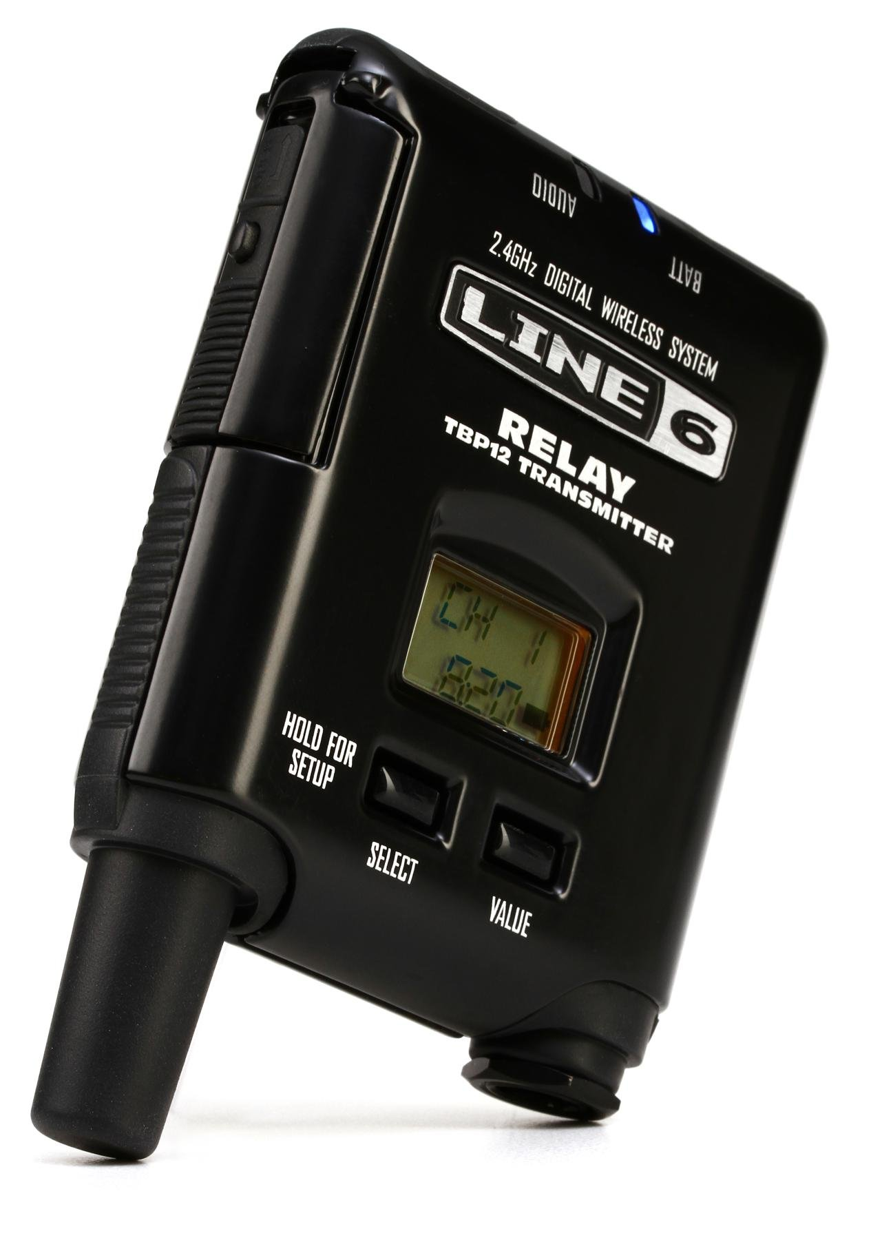 Line 6 Relay G55 Digital Wireless Guitar System Sweetwater Amp Meter For My Rig This Allows You To Use The One Panel Tbp12 Bodypack Transmitter