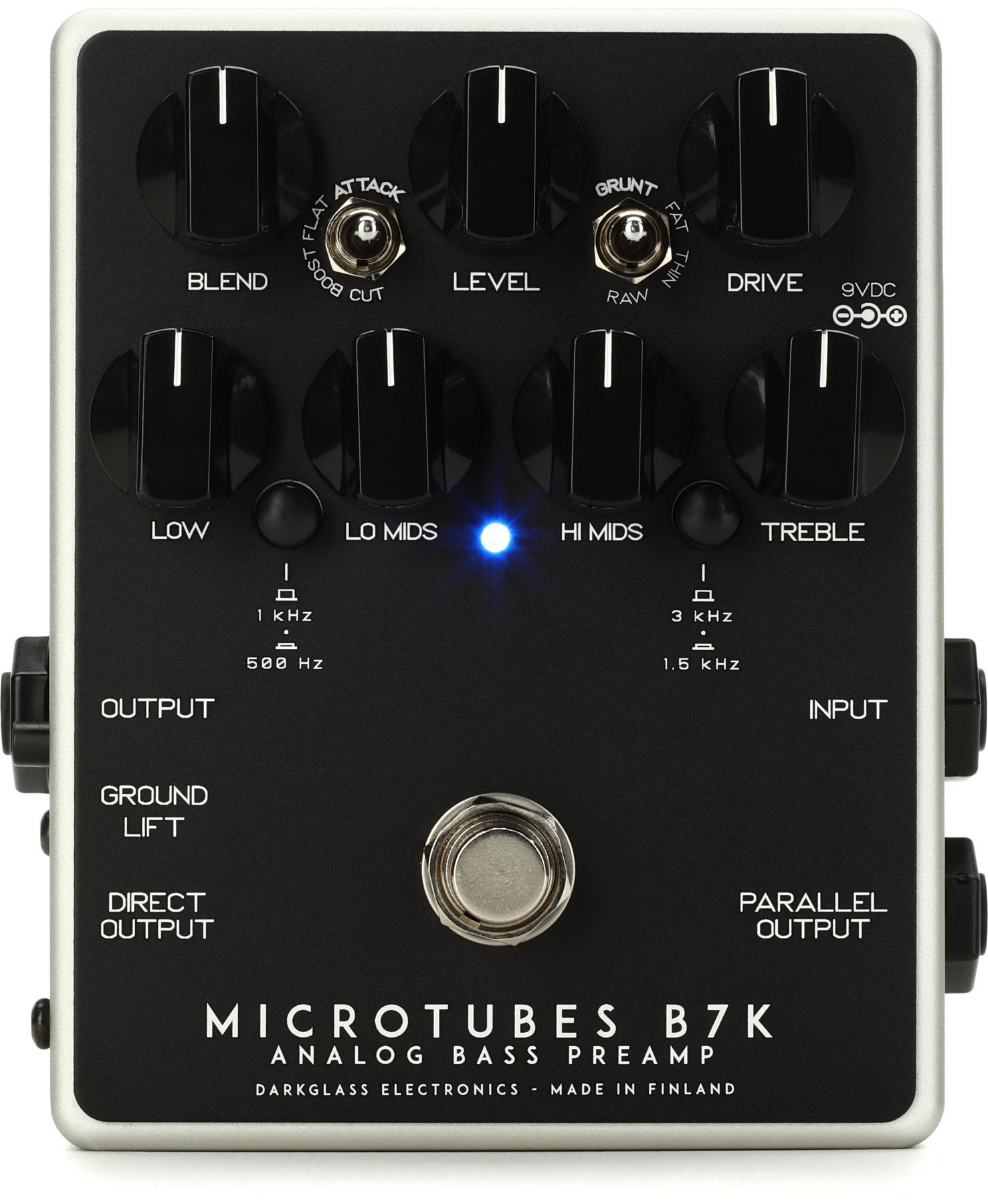 Darkglass Microtubes B7k V2 Bass Preamp Pedal Sweetwater Collection Of Circuit Boards Used For Source Audio Pedals Image 1