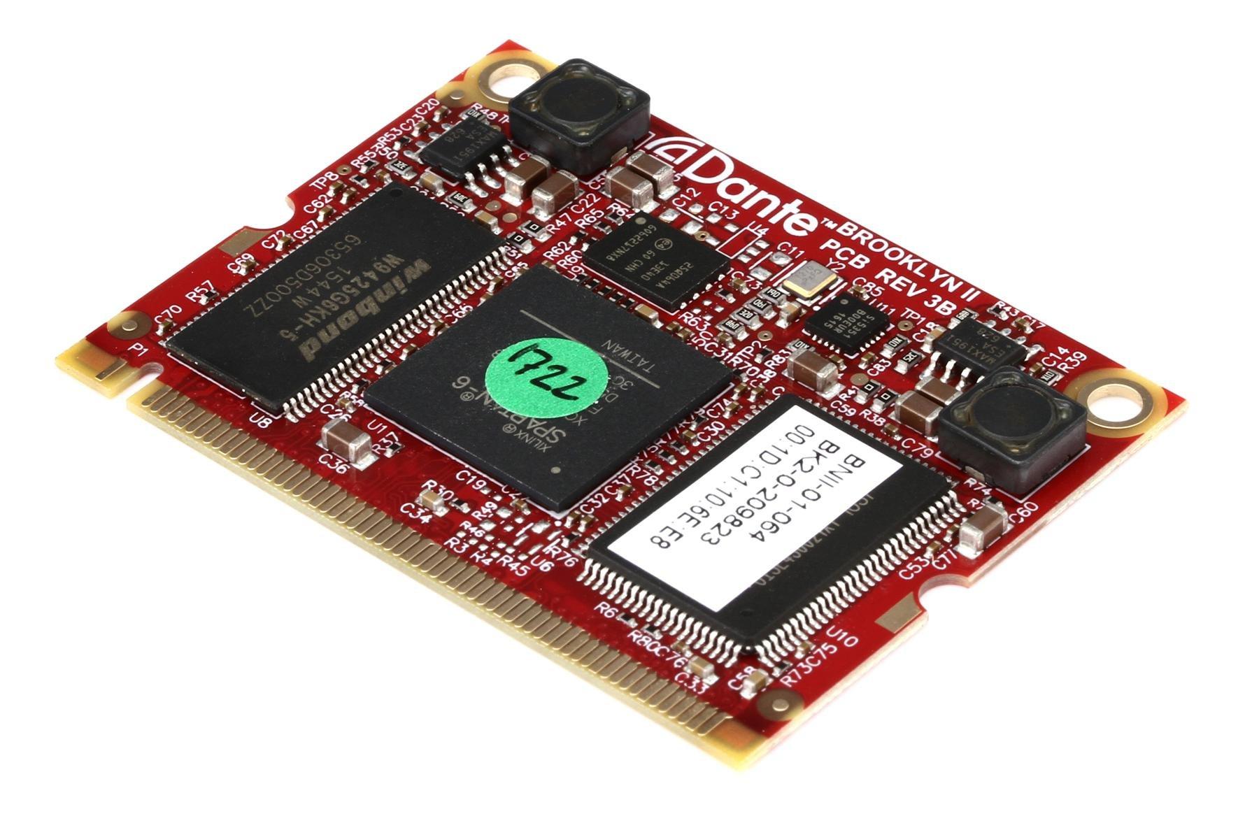 Avid Mtrx 64 Dante Module Channel Ip Sweetwater Bit Computer On Image 1
