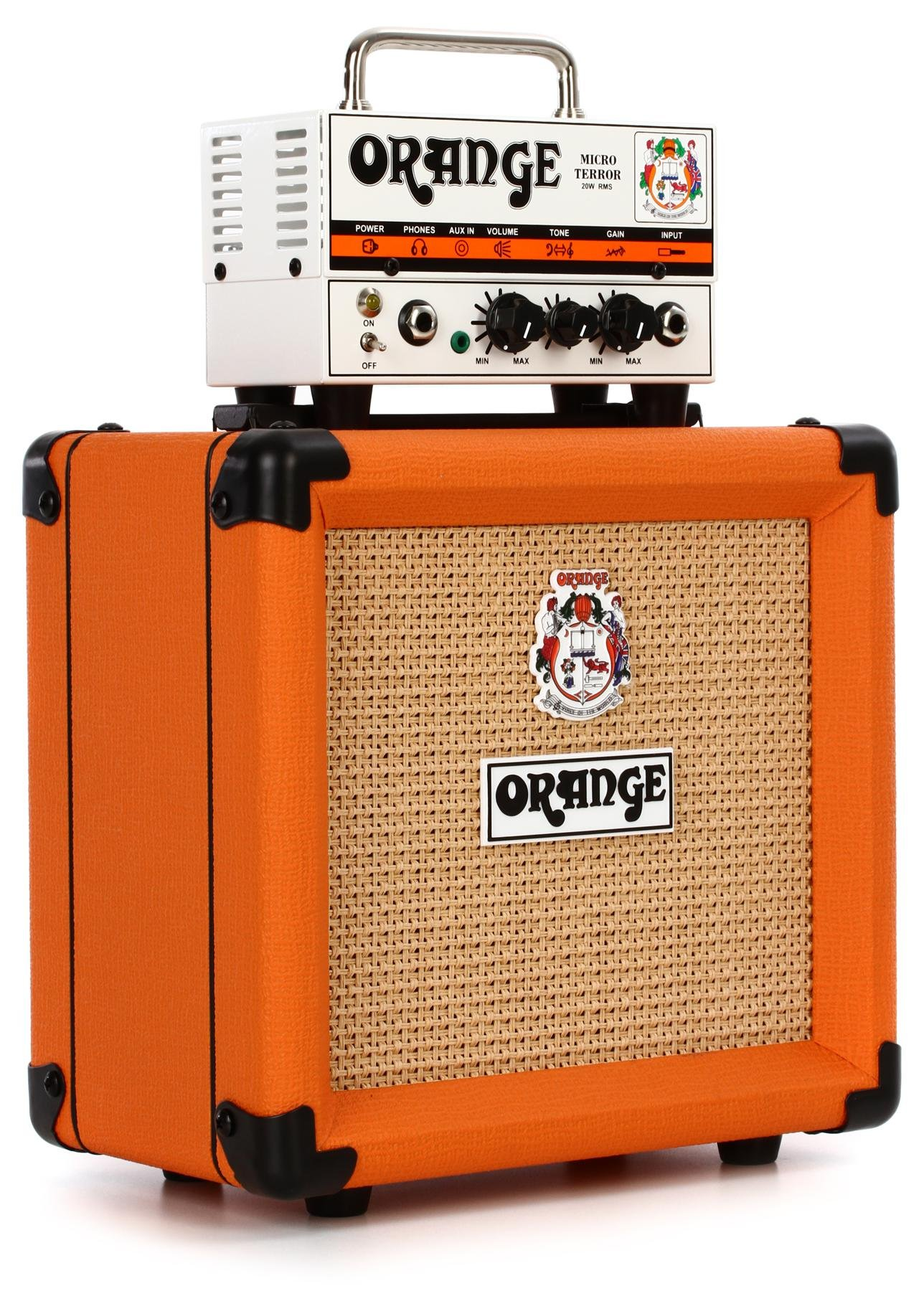 Orange Micro Terror Head and PPC108 Cabinet | Sweetwater