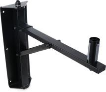 K&M 24120 Wall Mount Speaker Stand, Black (single)