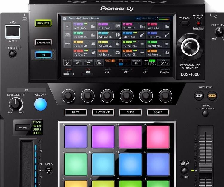 Pioneer DJ DJS-1000 Standalone DJ Sampler | Sweetwater