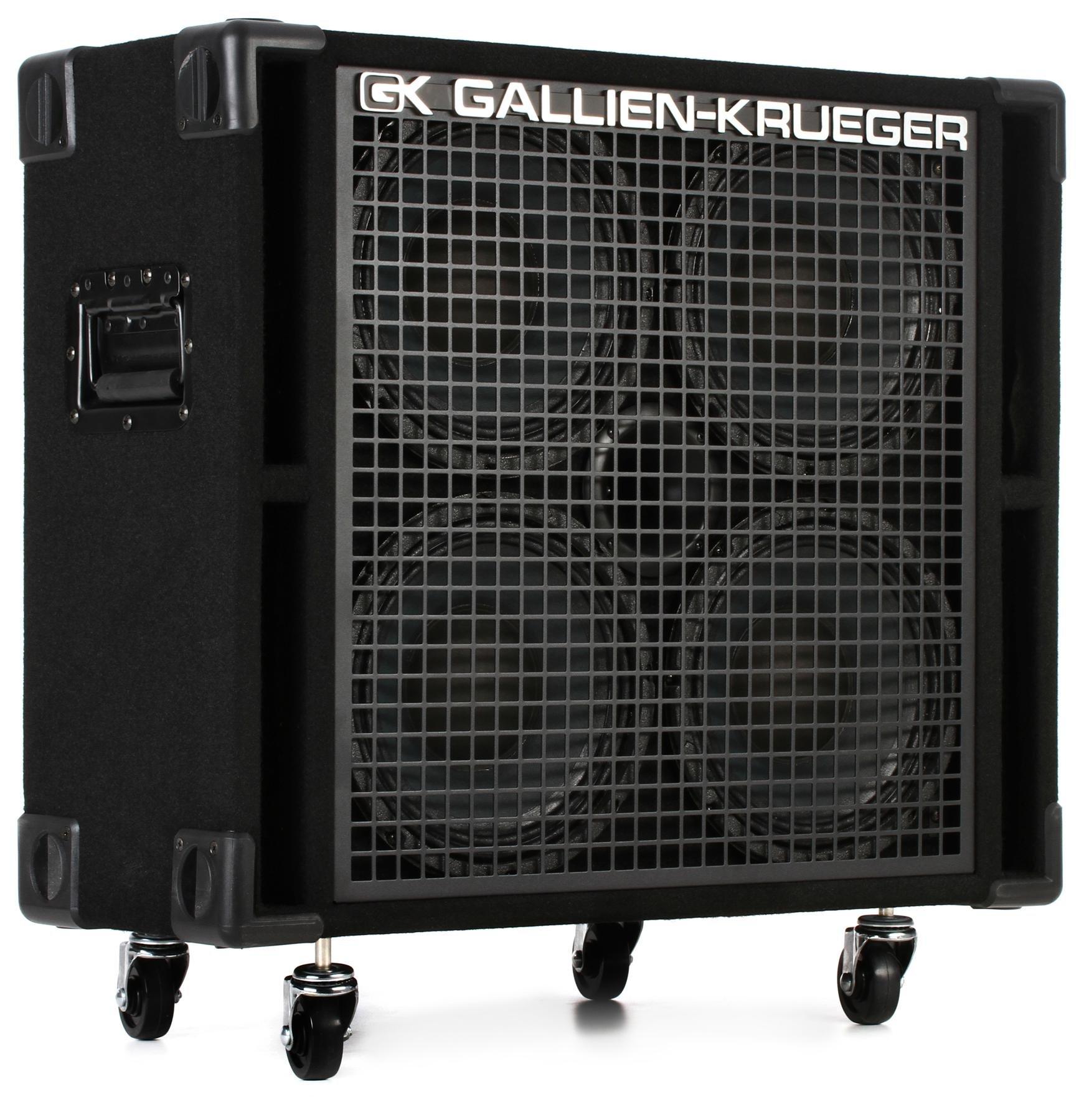 Gallien Krueger 410rbh 8 4x10 800 Watt Bass Cabinet Ohm Sweetwater Pa Speaker Wiring Diagram