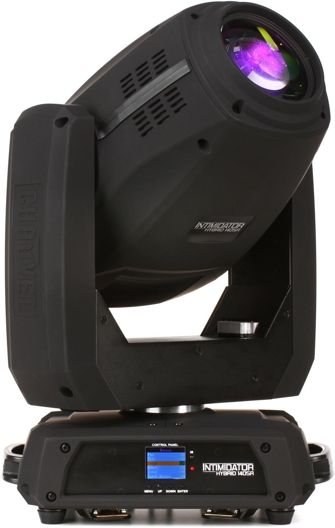 Chauvet dj intimidator hybrid 140sr 140w discharge lamp moving head
