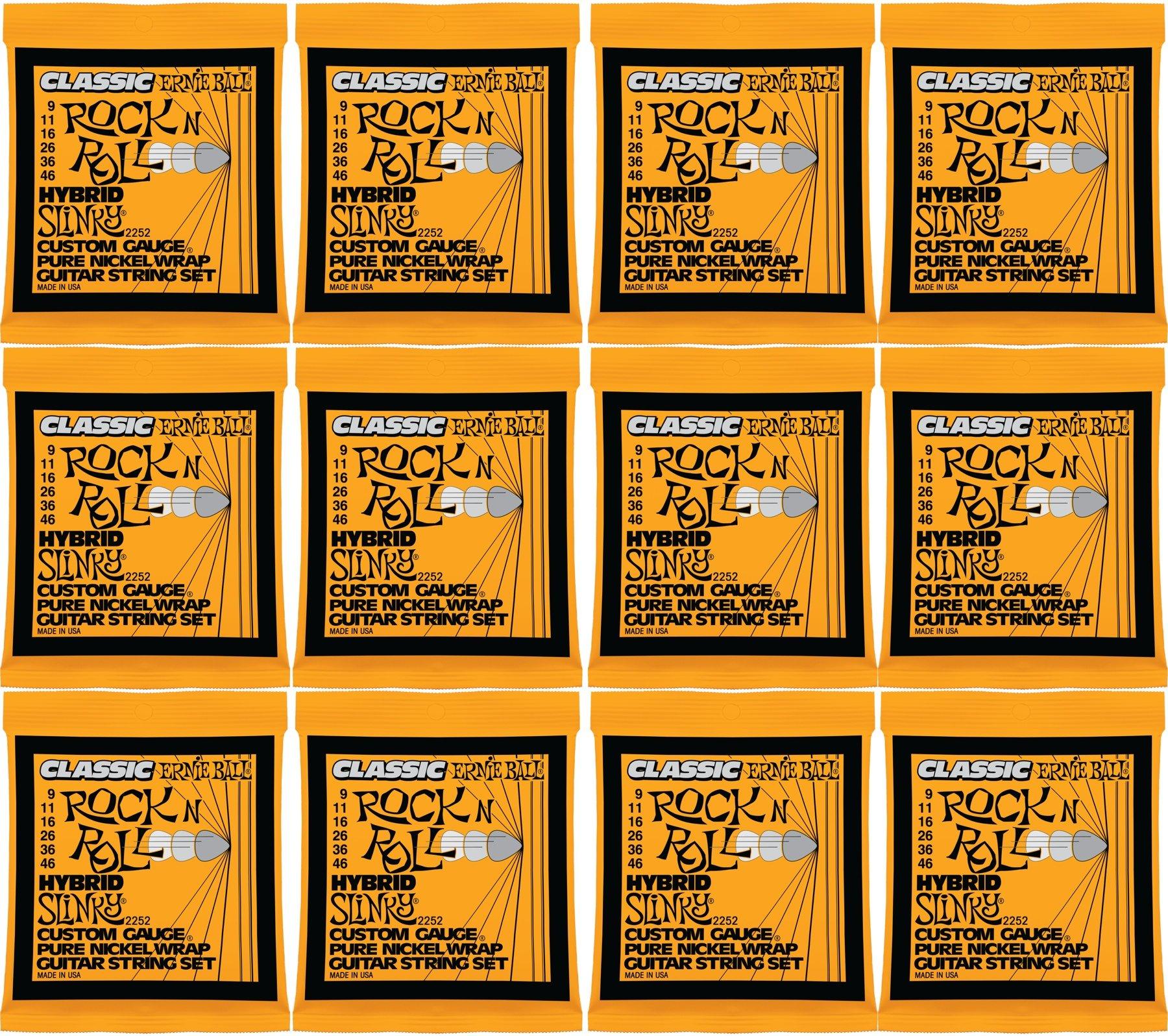 .046 Ernie Ball Classic Pure Nickel Hybrid Slinky Set .009
