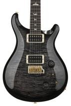 PRS Custom 22 10-Top - Charcoal Burst with Pattern Neck