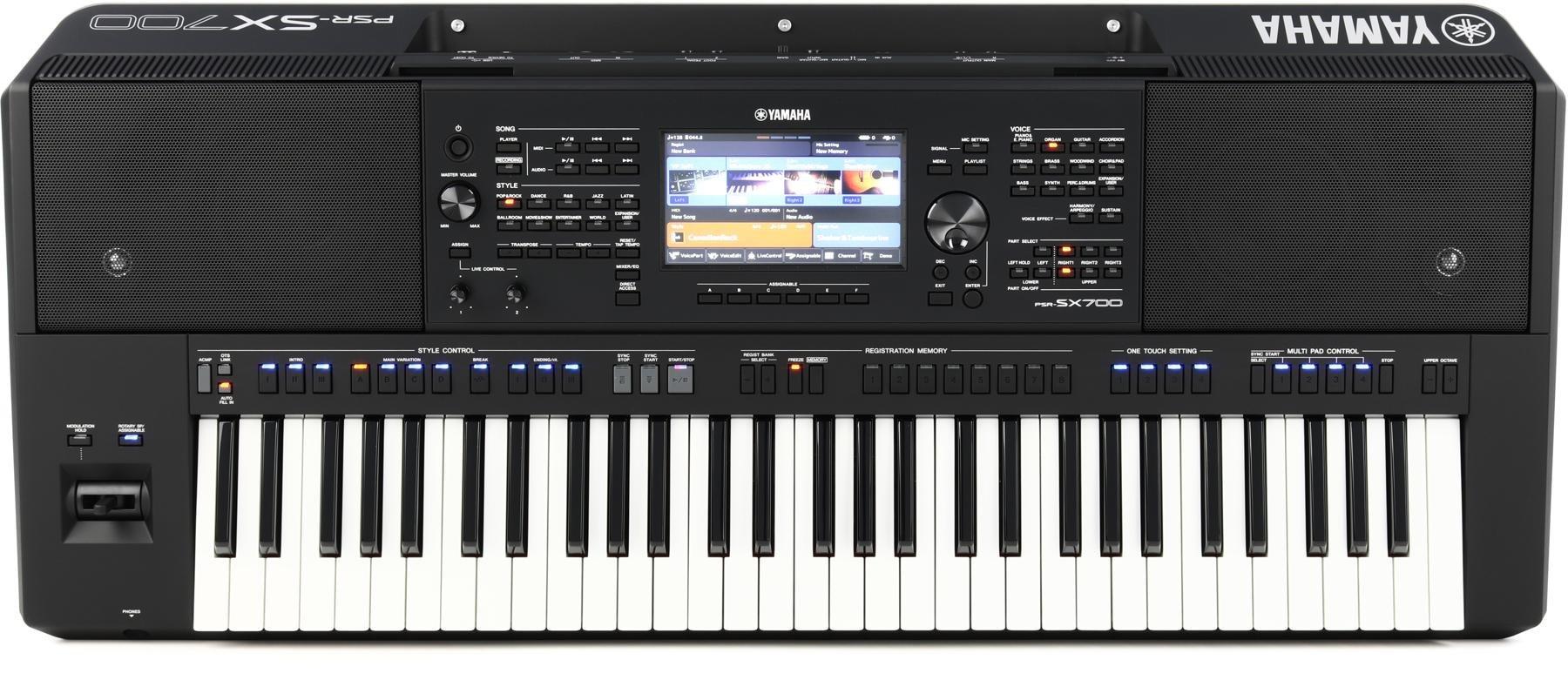 Yamaha PSRSX700 61-key Arranger Workstation | Sweetwater
