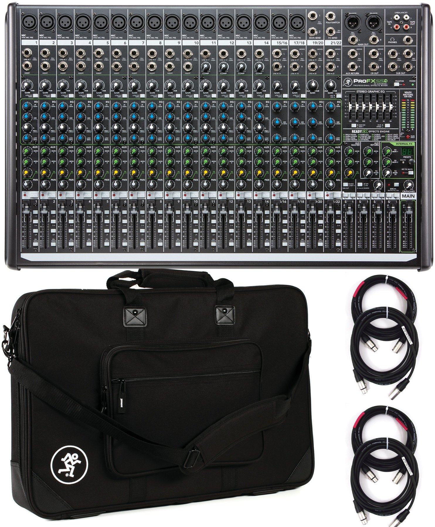 Mackie Profx22v2 Mixer With Usb And Effects Sweetwater Profx8 V2