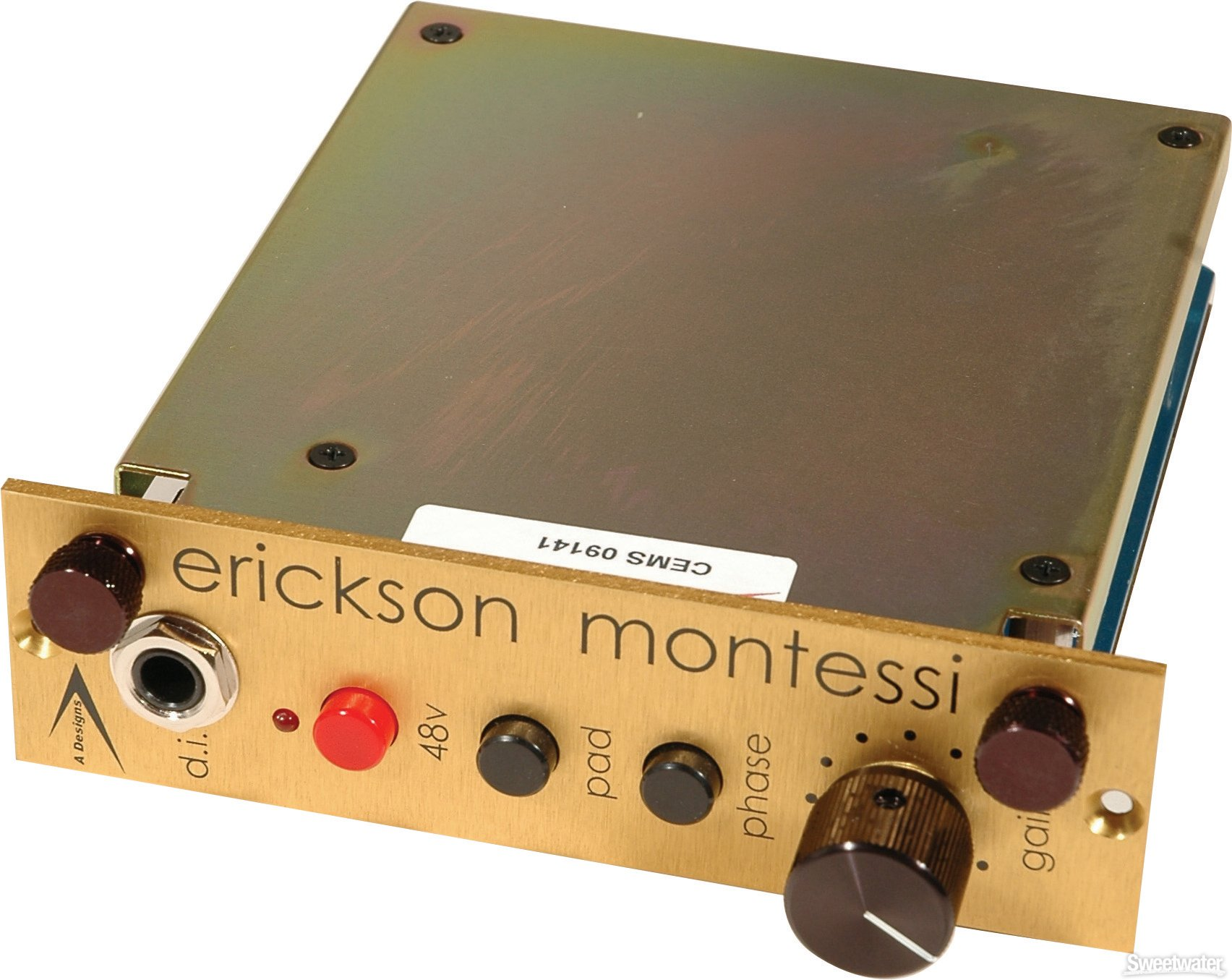 A Designs Em Gold Microphone Preamp Sweetwater Preamplifier With Tlc251 Image 1