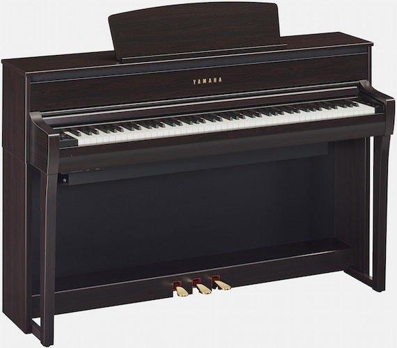 Yamaha clavinova clp 675 rosewood sweetwater for Yamaha clp 675