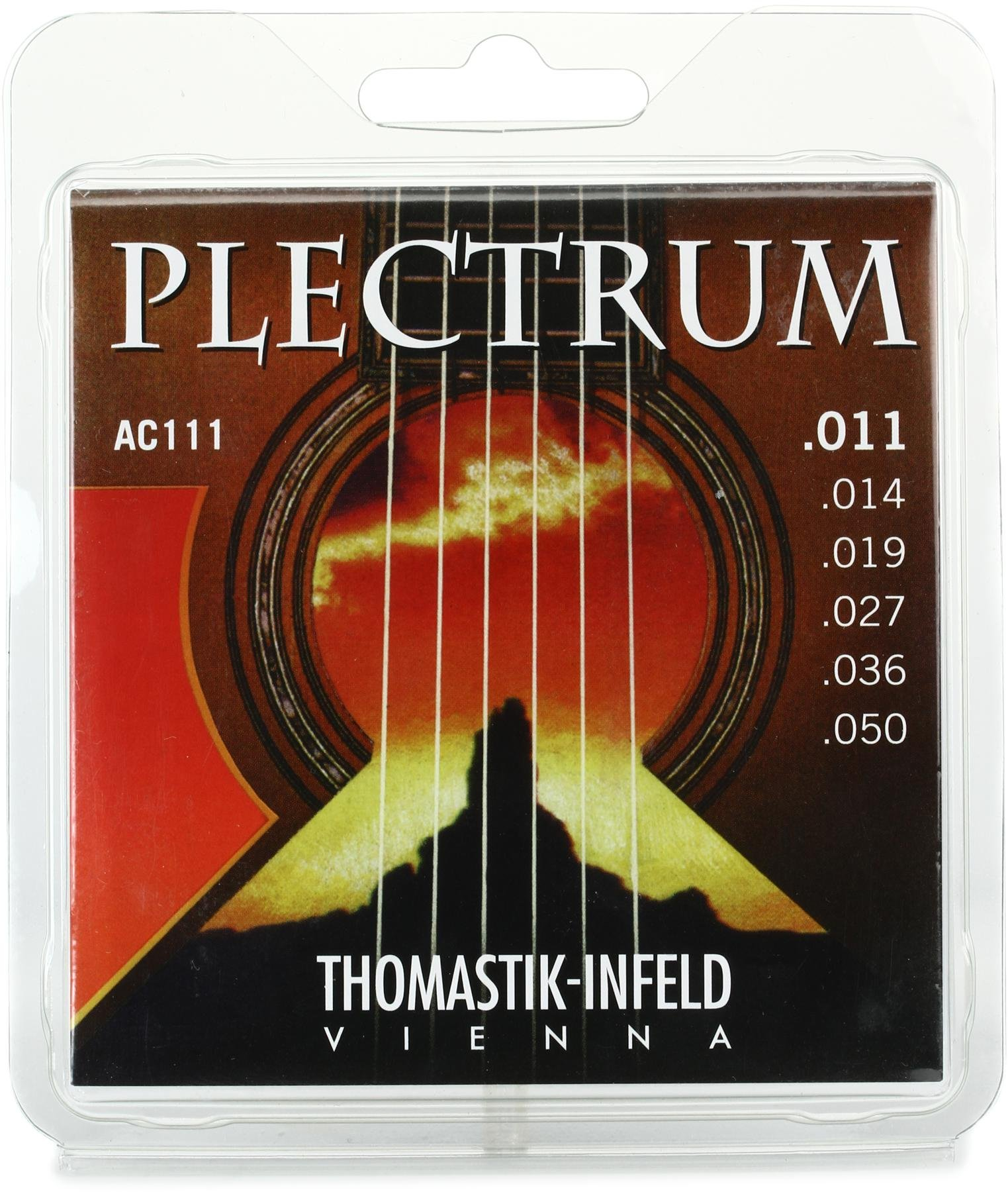 Thomastik TGAC111 Infeld Plectrum Bronze Light Acoustic Guitar Strings