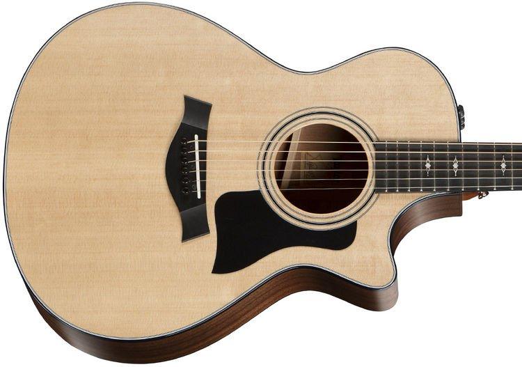 5baffd 312ceVC - Taylor 312CE Sb LTD V-Class Acoustic/Electric Guitar