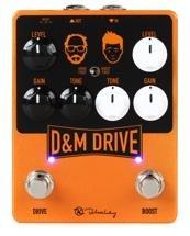 Keeley D&M Drive Dual Drive Boost Pedal