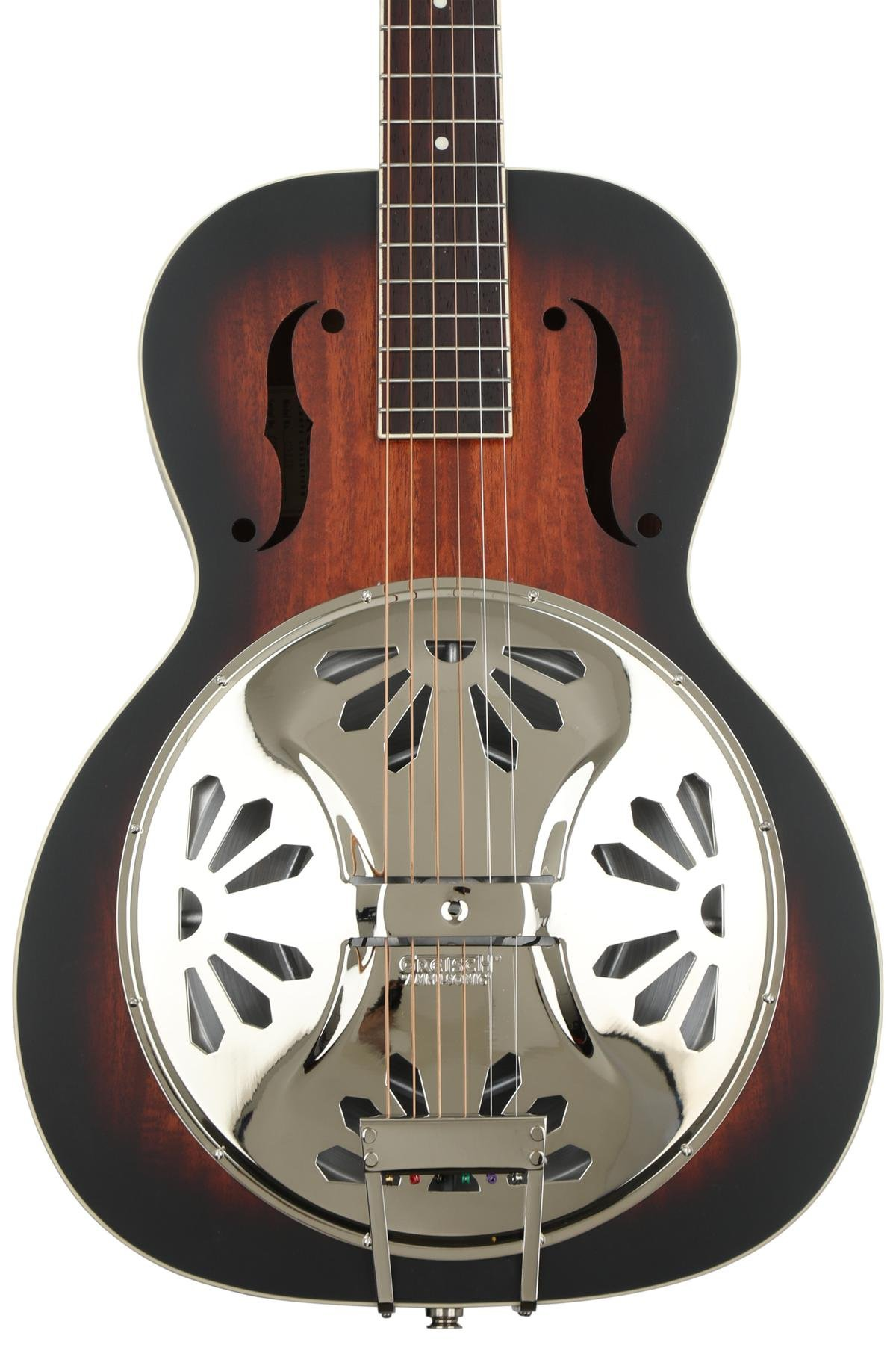 Gretsch G9220 Bobtail Round-neck Mahogany Body Resonator - 2-color  Sunburst, Padauk